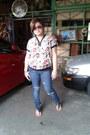 Pants-blouse