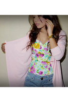 bubble gum corset Love Humbly Shop top