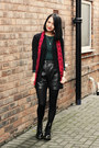 Patent-doc-martens-boots-missguidedcouk-scarf-leather-vintage-shorts