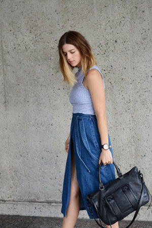 denim The Fifth skirt