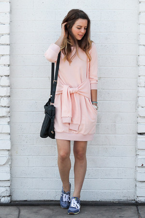 pink cotton Front Row Shop dress
