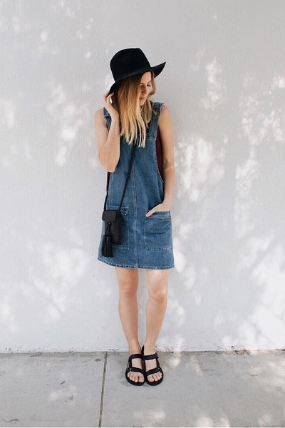 denim cotton on dress