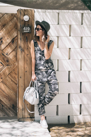 palm print Objects Without Meaning romper