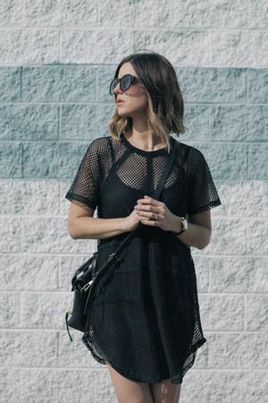 mesh NBD dress
