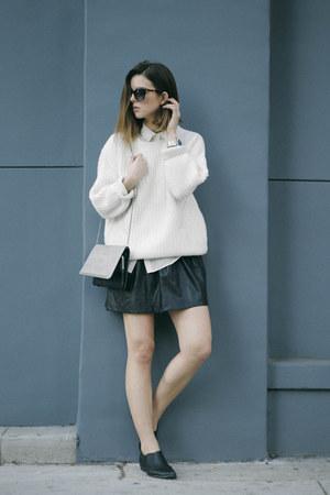 leather Tart skirt