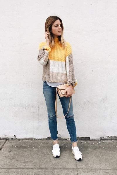 knit Ganni sweater