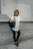 button down Aritzia shirt