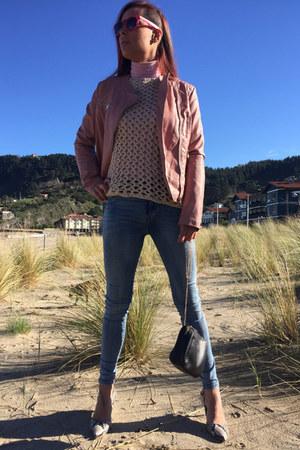suiteblanco shoes - Stradivarius jacket