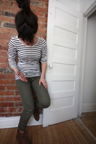 Zara shoes - H&M leggings - H&M shirt