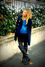 Black-zara-boots-navy-forever-21-coat-teal-vintage-jumper-black-h-m-skirt