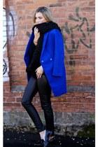 blue 6KScom coat