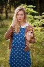 Blue-titisclothing-dress-brown-nowistyle-cardigan
