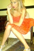 Forever 21 sandals - Topshop dress