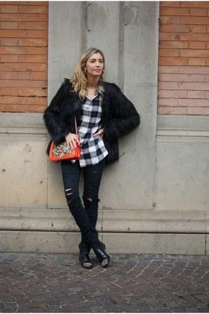 black lookbookstore coat - gray nowIStyle shirt