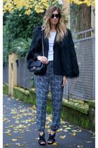black Blue Vanilla pants