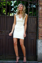 beige celebindresslook dress