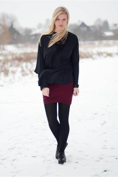 black COS shoes - black Very by Vero Moda blouse