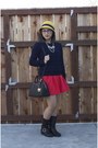 Navy-cable-knit-forever21-sweater-black-jimmy-choo-boots