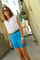 second hand shorts - second-hand shirt - Iloko glasses - F&F belt - H&M bracelet