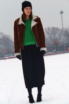 New Yorker boots - c&a hat - Terranova jacket - H&M skirt