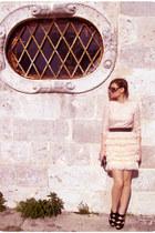 H&M dress - Aldo bag - Prada glasses