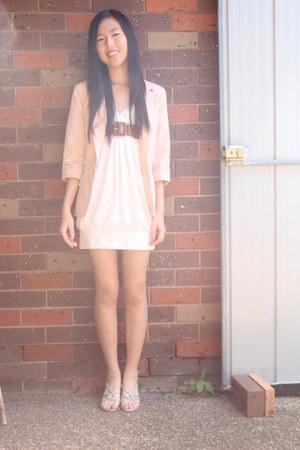 Valleygirl dress - Valleygirl blazer - unbranded heels