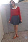 Valleygirl-shoes-chic-a-booti-skirt-from-japan-blouse-knit-dotti-top