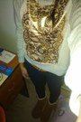 Nine-west-boots-bench-jeans-forever21-sweater-genevieve-necklace