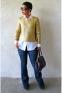 Forever-21-jeans-h-m-sweater-diy-shirt-coach-bag