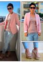 Pink-gap-sweater-sky-blue-forever-21-jeans-pink-forever-21-blazer