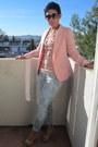 Sky-blue-forever-21-jeans-pink-gap-sweater-pink-forever-21-blazer