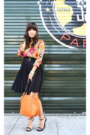 f7b91977ee211c Jason Wu for Target skirt - Michael Kors bag - Bakers heels - vintage blouse