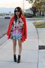 Red-h-m-coat-sky-blue-h-m-blouse-carrot-orange-h-m-skirt