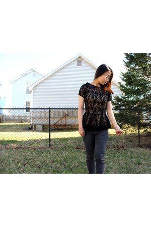 black Shabby Apple top