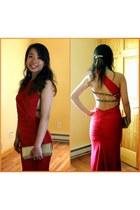 red Atria dress