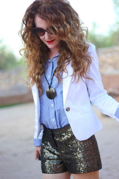 H&M blazer - Express shorts
