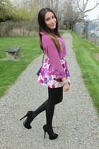 Forever 21 skirt - JC Penney blouse - Anne Michelle heels