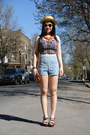 Light-blue-urban-outfitters-shorts