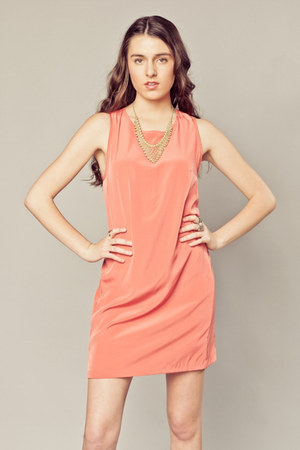 peach Peppermint dress
