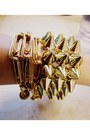 Studded-cuff-and-neck-bracelet-diy-bracelet