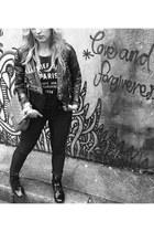 Stella McCartney jacket - ankle asos boots