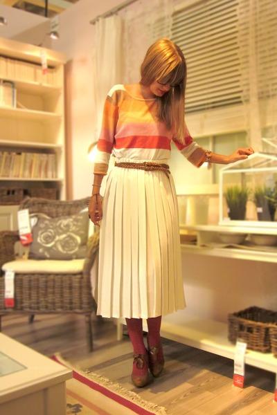 Pleated Skirt Vintage Skirts