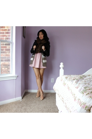 Forever 21 belt - Urban Outfitters dress - Christian Louboutin shoes