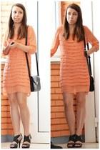carrot orange unknown dress