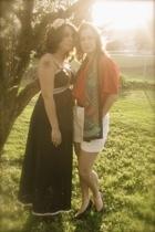 vintage intimate - vintage blouse - vintage shorts - vintage scarf - vintage sho