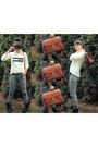 Steve-madden-boots-tommy-hilfiger-sweater-thifted-vintage-bag-bag