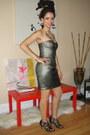Bronze-strapless-ld-cynthia-steffe-dress-black-studded-heels-nine-west-heels
