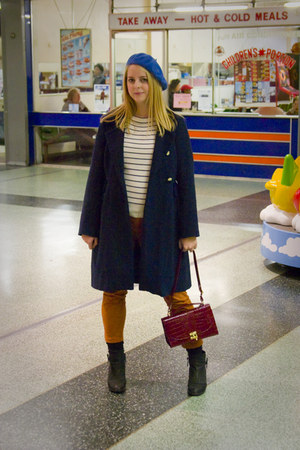 ambush Topshop boots - tba coat - American Apparel hat - Primark bag