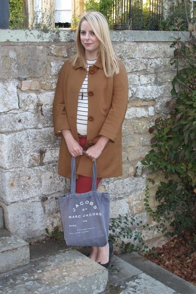 Monki coat - Marc by Marc Jacobs bag - asos pants - Topshop flats