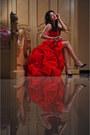 Red-msdressy-dress-black-autumn-skye-heels